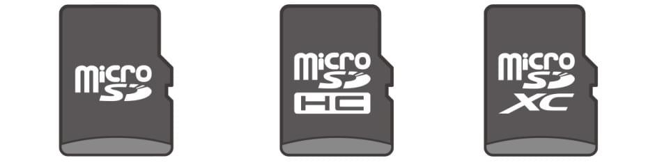 microSD classes